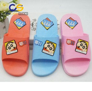 2017 top sale PVC washable slipper for teenager girls comfort teenager girls sandal 19480