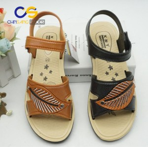 PVC sandal for old lady outdoor slipper for old lady 31765
