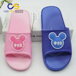 Air blowing slipper for teenager girls casual girls sandal with good quality