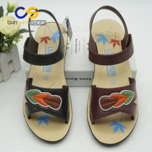 Air blowing sandal for old lady casual outdoor sandal from Wuchuan 31754