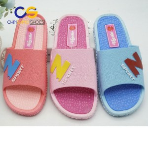 Air blowing women slipper indoor washable women slipper with factory price 19411