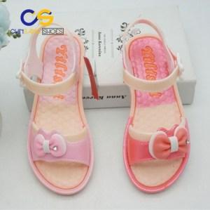 Wholesale price girls PVC sandals outdoor comfort sandals for teenager girls