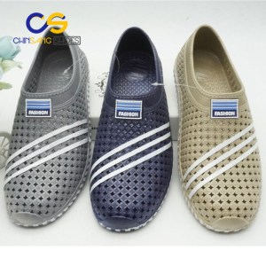 PVC men clogs comfort air blowing clogs sandals with good quality
