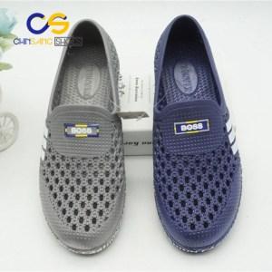 2017 hot sale PVC men clogs comfort air blowing clogs sandals for men