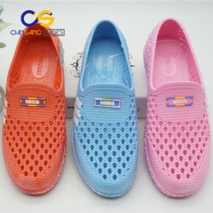 Air blowing PVC clogs for women outdoor casual women clogs