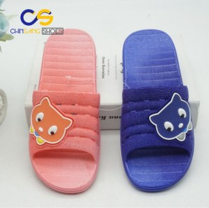 Indoor bedroom PVC slipper sandals for girls and women