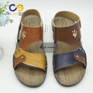 Factory supply PVC sandals for man summer outdoor men sandals