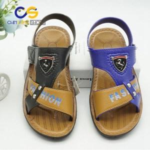 Hot sale PVC teenager boys sandals outdoor beach slipper for boys