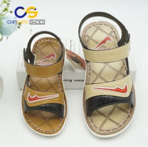 2017 fashion PVC teenager boys sandals summer outdoor sandals for teenager boys