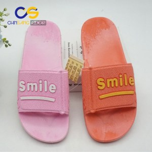 Air blowing women slipper sandals comfort PVC slipper for women