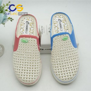 Chinsang trade PVC women clogs sandals casual outdoor clog sandals