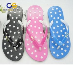 Casual home indoor outdoor women flip flops from Wuchuan