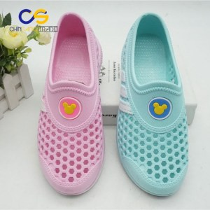Chinsang hot sale PVC women clogs durable garden shoes for women