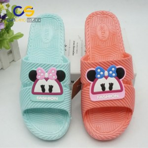 Comfort house women slipper durable PVC indoor slipper for women