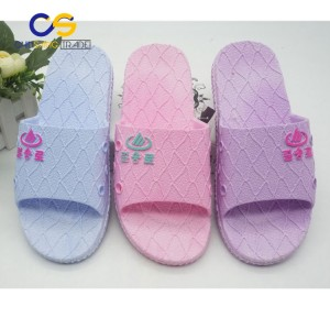 Good quality air blowing indoor women slipper shoes from Wuchuan