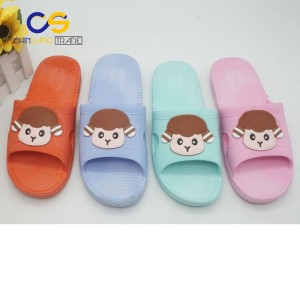 Wholesale price PVC air blowing indoor women slipper shoes