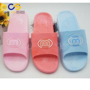 Hot sell PVC air blowing indoor slipper shoes for big girl and women