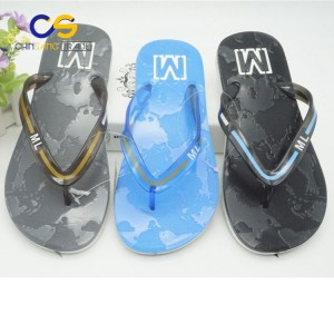 Simple summer PVC man flip flop shoes