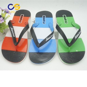 Casual air blowing outdoor beach men flip flops