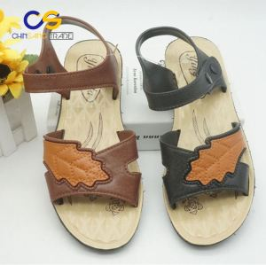 PVC air blowing women sandals durable garden shoes for old lady