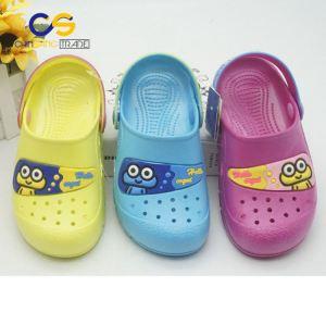 Cute PVC kid clog shoes washable fancy clog for kids