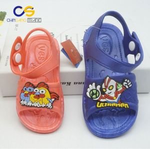 Cute kids PVC sandals outdoor school sandals for boys and girls