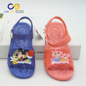 Fancy slipper sandals kids PVC sandals outdoor school sandals for boys and girls