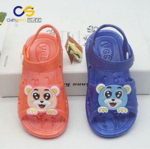 Fancy kids PVC slipper sandals outdoor school sandals for kids