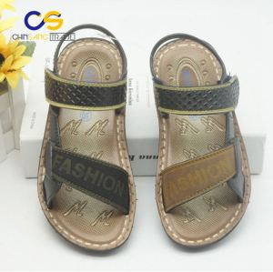 Promotional PVC outdoor sandals for school boys