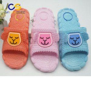 Comfort indoor bedroom women slipper  washable PVC women slide sandals