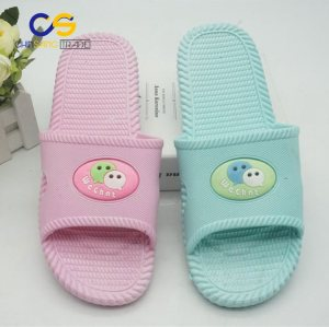 Factory supply air blowing PVC indoor women slipper from Wuchuan
