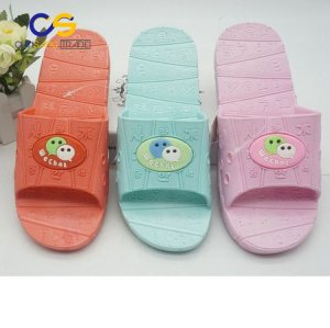 Durable air blowing PVC women slipper indoor bedroom slipper for female