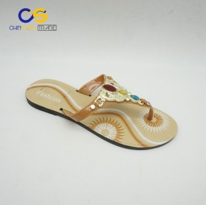 Promotional PVC women flip flops fashion summer outdoor flip flops for lady