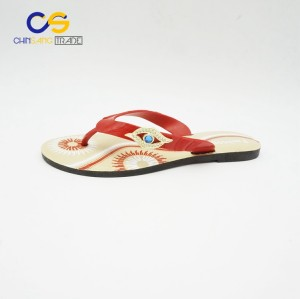 Factory price PVC women flip flops outdoor summer women flip flops from Wuchuan