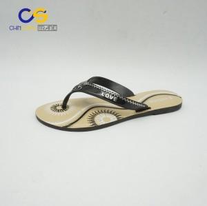 Cheap price PVC women flip flops summer fashion women slipper shoes