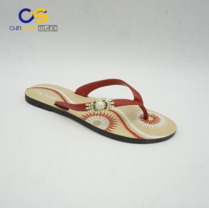 Wholesale cheap summer women flip flops soft outdoor beach flip flops sandals for lady