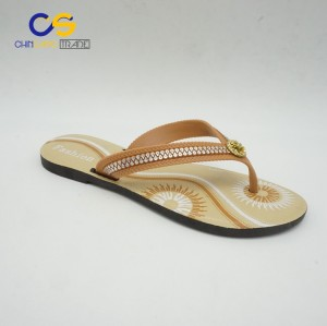 High quality promotional summer women flip flops from Wuchuan
