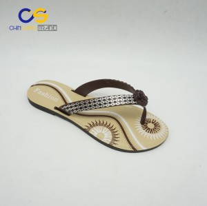 Hot sale summer PVC women flip flops with good quality