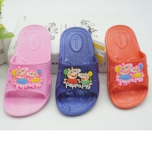 Chinsang trade fancy kids slipper cartoon slipper sandals for girls and boys