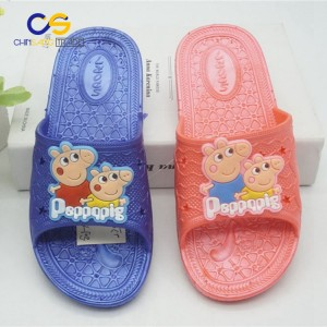 Air blowing hot sell PVC kids slipper from Wuchuan