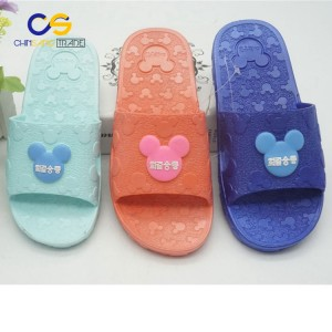Wholesale price PVC air blowing slipper for big girls and boys
