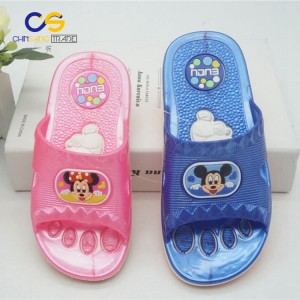 Good quality kids indoor outdoor beach slipper from Wuchuan