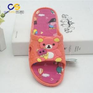 New design summer indoor house slipper for girls