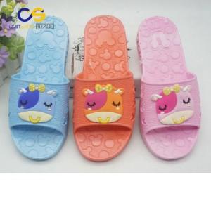 Soft bathroom anti slide women slipper shoes from Wuchuan