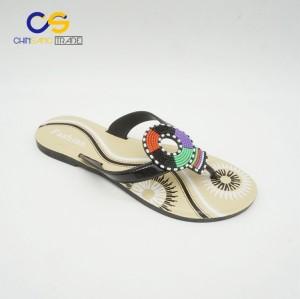 New arrival summer outdoor beach women slipper shoes