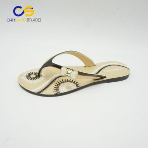 Comfort women slipper PVC slipper shoes for lady