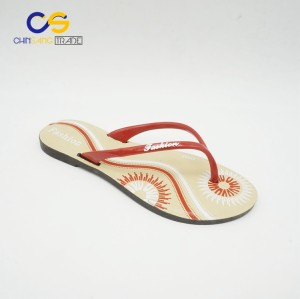China plastic women slipper shoes with factory price