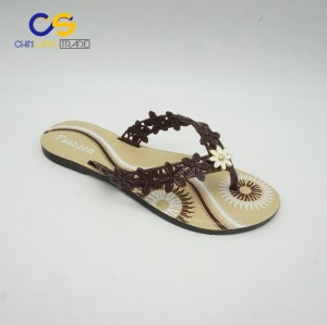 2017 new arrival fashion PVC women slipper shoes from Wuchuan