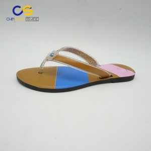 Factory supply PVC women outdoor beach flip flops