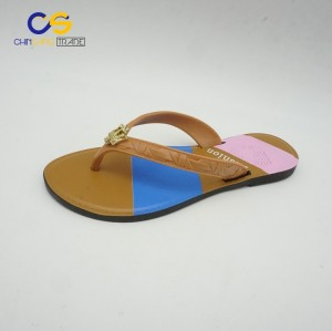 Hot sell women air blowing flip flops outdoor casual flip flops shoes for lady